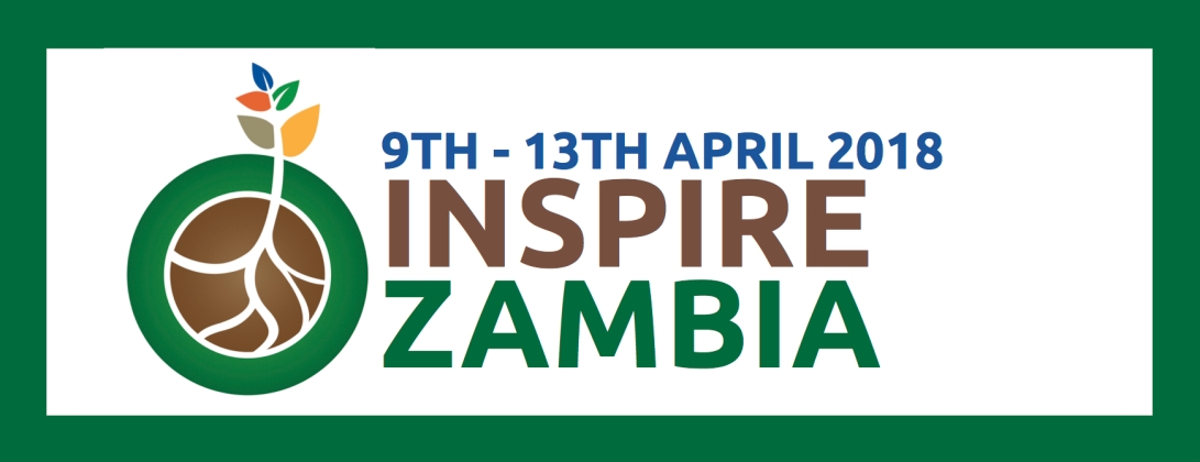 Inspire Zambia logo and dates